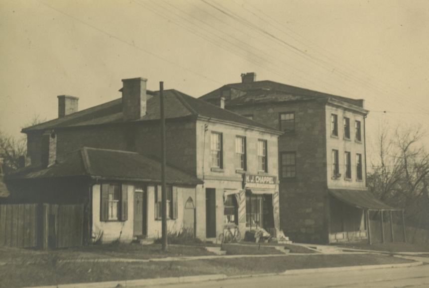 Guelph's original Stone Store 1890 (far right)
